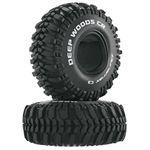 "Duratrax Deep Woods CR 1.9"" Crawler Tire C3 (2)"