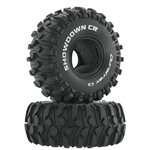 "Duratrax Showdown CR 1.9"" Crawler Tire C3 (2)"