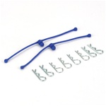 Du-Bro Body Klip Retainers Blue