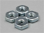 Du-Bro Steel Hex Nuts 2-56 (4)