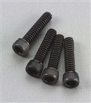 Du-Bro Socket Cap Screws 4-40x1/2 (4)