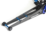"Exotek Racing Adjustable 12"" Carbon and Alloy Wheelie Bar for DR10"