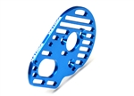 Exotek Racing Slotted Lightweight Aluminum Motor Plate for DR10