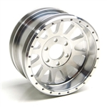 "Gear Head RC 2.2"" Lightweight U4 Race Wheels, Silver (4)"