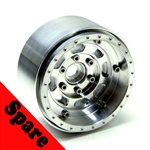 "Gear Head RC 1.9"" Trail King All Aluminum EZ-Loc Wheel (1) Spare"
