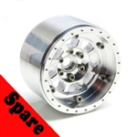 "Gear Head RC 2.2"" Trail King All Aluminum EZ-Loc Beadlock Wheel (1) Spare"