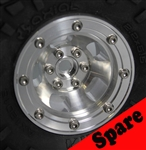 "Gear Head RC 2.2"" Slot Mag Aluminum Beadlock Wheel (1) Spare"