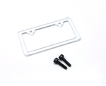 Gear Head RC License Plate Frame - Style No. 1