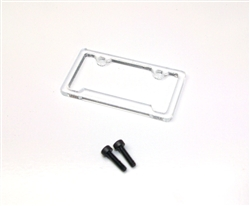 Gear Head RC License Plate Frame - Style No. 2
