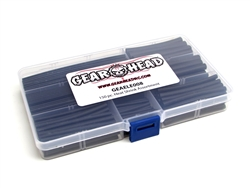 Gear Head RC 150 pc. Heat Shrink Assortment with Plastic Case