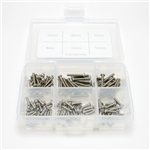 Gear Head RC M3 Stainless Steel Button Head Socket Cap Screw 125 pc. Assortment