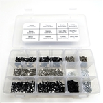 Gear Head RC M2 Screw and Hardware 600 pc. Assortment