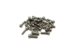 Gear Head RC M2 x 8 mm Stainless Steel Socket Head Screws (30)