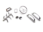 Gear Head RC Chrome Interior Detail Set