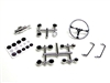 Gear Head RC Chrome Gauge and Interior Detail Set