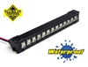 "Gear Head RC 1/10 Scale Trail Torch 4"" LED Light Bar - White"