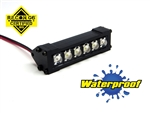"Gear Head RC 1/10 Scale Six Shooter 2"" LED Light Bar - White"