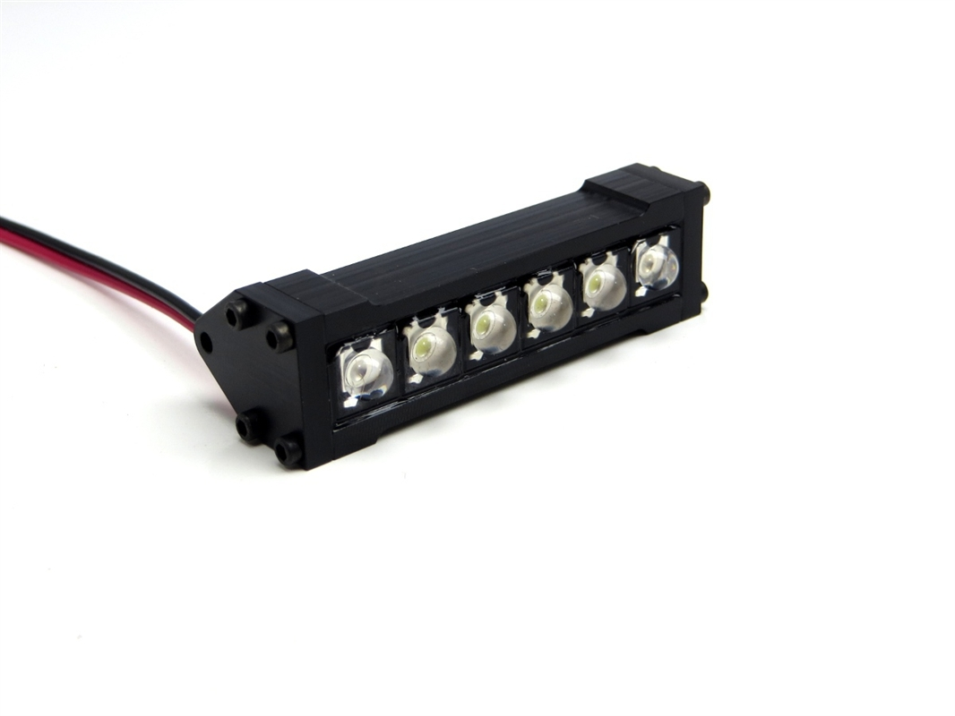 Gear head rc 110 scale six shooter 2 led light bar white mozeypictures Images