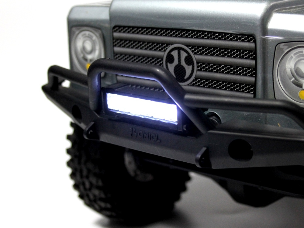 Gear head rc 110 scale six shooter 2 led light bar white aloadofball Image collections
