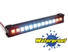 "Gear Head RC 1/10 Scale Trail Torch 4"" LED Light Bar - White and Amber"