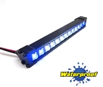"Gear Head RC 1/10 Scale Trail Torch 4"" LED Light Bar - White and Blue"