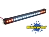 "Gear Head RC 1/10 Scale Desert Torch 6.5"" LED Light Bar - White and Amber"