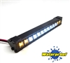 "Gear Head RC 1/10 Scale Trail Torch 4"" LED Light Bar - White and Yellow"