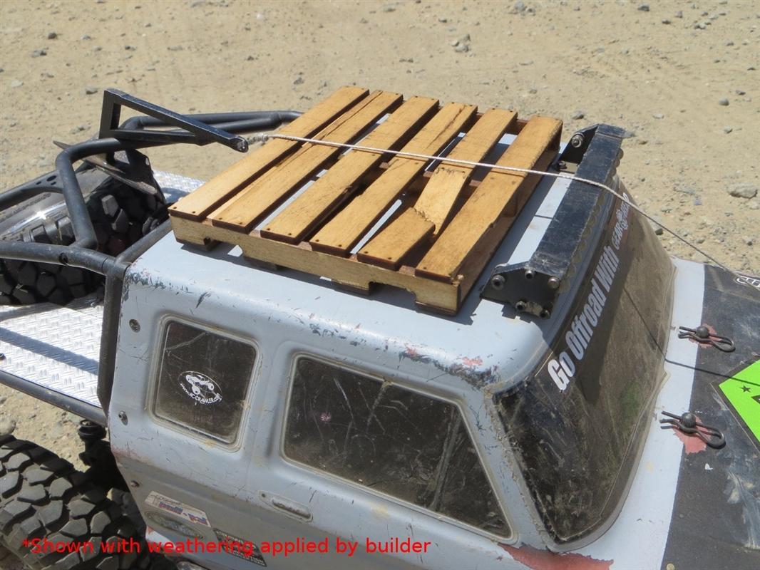 Gear Head Rc 1 10 Scale Wooden Pallet Kit