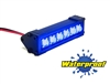 "Gear Head RC 1/10 Scale Six Shooter 2"" LED Light Bar - Blue"