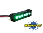 "Gear Head RC 1/10 Scale Six Shooter 2"" LED Light Bar - Green"