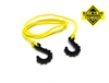 "Gear Head RC 24"" Tow Rope with Hooks, Yellow"