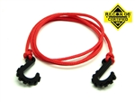 "Gear Head RC 24"" Tow Rope with Hooks, Red"