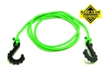 "Gear Head RC 24"" Tow Rope with Hooks, Neon Green"