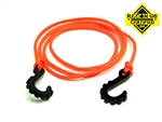 "Gear Head RC 24"" Tow Rope with Hooks, Neon Orange"