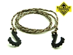 "Gear Head RC 24"" Tow Rope with Hooks, Desert Camo"