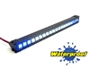 "Gear Head RC 1/10 Scale Desert Torch 6.5"" LED Light Bar - White and Blue"