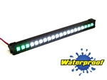 "Gear Head RC 1/10 Scale Desert Torch 6.5"" LED Light Bar - White and Green"