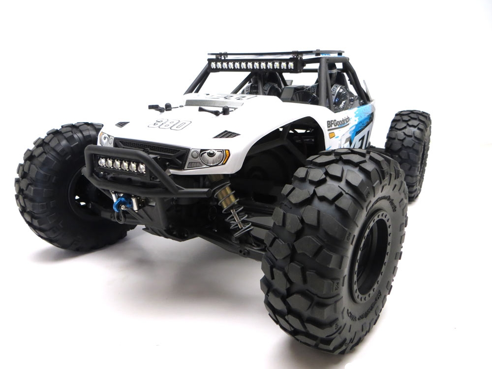 Gear head rc 110 scale yeti slim line roof rack with light bar mount audiocablefo
