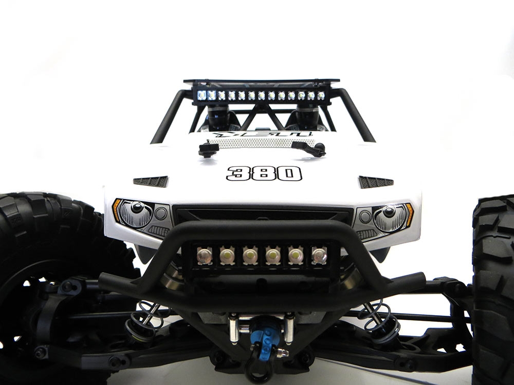 Gear Head Rc 1 10 Scale Yeti Slim Line Roof Rack With