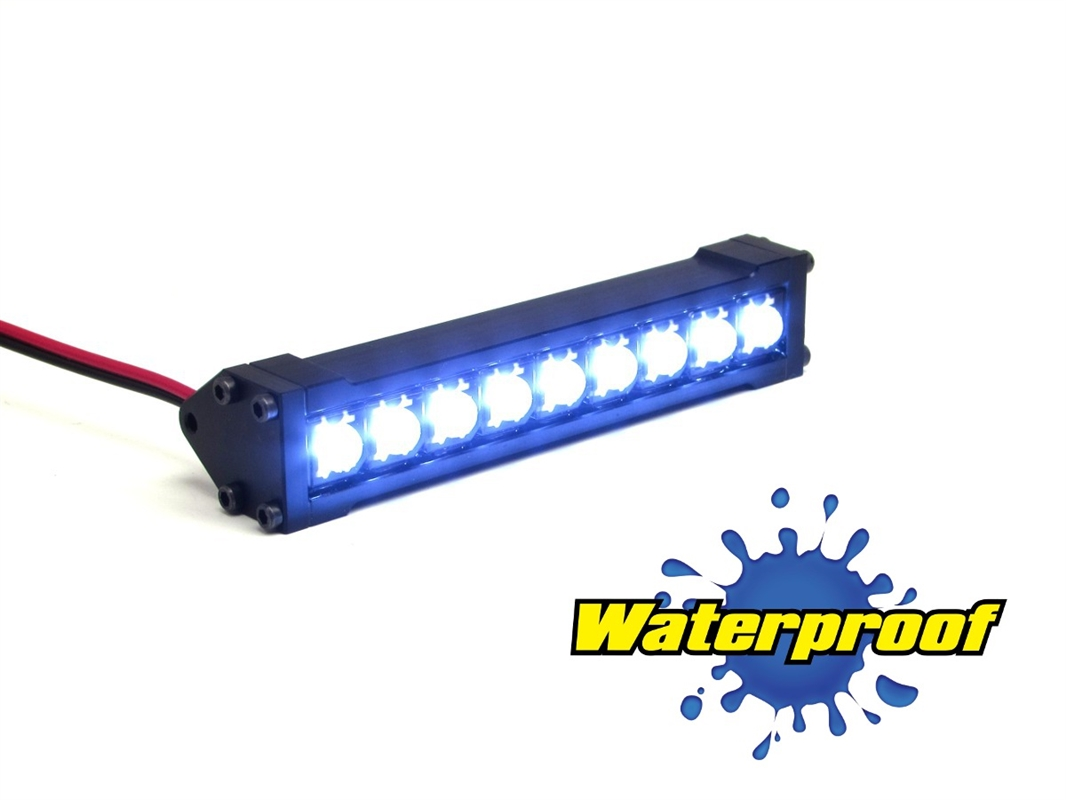 Gear head rc 110 scale terra torch 3 led light bar white aloadofball Image collections