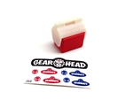 Gear Head RC 1/10 Scale Small Ice Chest - Red
