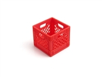 Gear Head RC 1/10 Scale Milk Crate - Red (1)