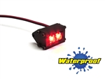 Gear Head RC 1/10 Scale Trail Pod LED Lightbar - Red (1)