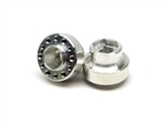 Gear Head RC 6-Lug Aluminum Hubs, Plus .375 (2)