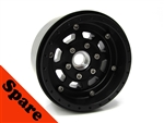 "Gear Head RC 1.9"" Trail King EZ-Loc Wheel w/Black Delrin Rings (1) Spare"