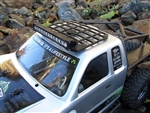 Gear Head RC Axial Honcho White Trail Torch plus Roof Rack Combo