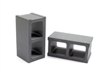 Gear Head RC Miniature Cinder Blocks (2)