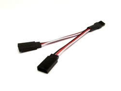 Gear Head RC 4 inch Y-Harness with Universal Connectors