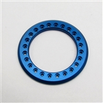 Gear Head RC 1.55 Aluminum Beadlock Rings - Anodized Blue (2)