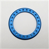 "Gear Head RC 1.9"" Aluminum Beadlock Rings - Anodized Blue (2)"